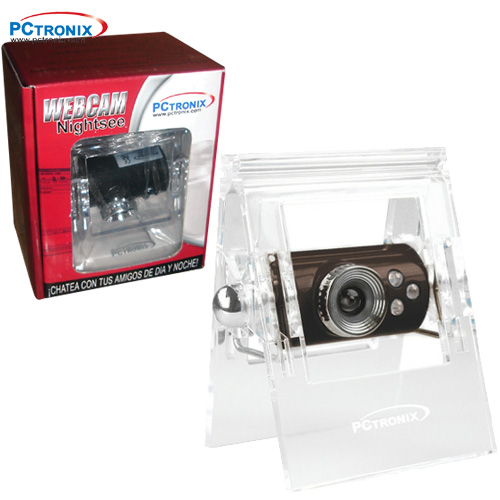 Webcam #WSP-031 VGA, LED, Microfono (regala audifono 3.5) CajaV